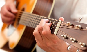 Guitar Academy: Choice of Guitar, Bass, Vocals, Drums or Piano Lesson from £5 at Guitar Academy (Up to 68% Off)