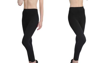 Womens Seamless High-Waisted Control Leggings