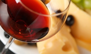 View Wine Bar & Kitchen: $48 for a Wine-and-Cheese Tasting for Two at View Wine Bar & Kitchen ($77 Value)