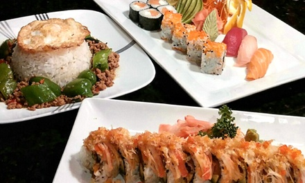 $16 for $30 Worth of Sushi and Thai Food for Dinner for Two or More at Bangkok Jazz Thai Restaurant