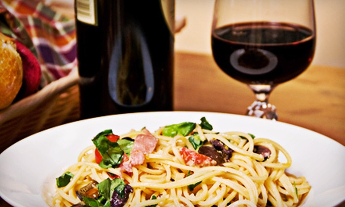 Wine Maniacs Bar & Bistro - Okauchee Lake: $15 for $30 Worth of Wine, Small Plates, and Sandwiches at Wine Maniacs Wine Bar & Bistro