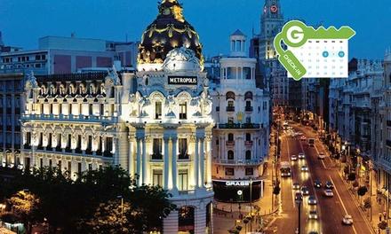 Madrid: estancia en habitación doble standard para dos personas en Holiday Inn Madrid - Bernabéu 4*