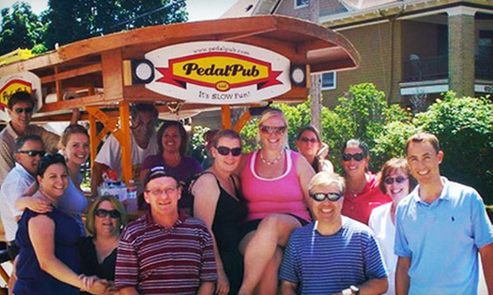 PedalPub Chicago - West Town: $149 for Two-Hour Bar Crawl for Up to 16 from PedalPub Chicago (Up to $380 Value)
