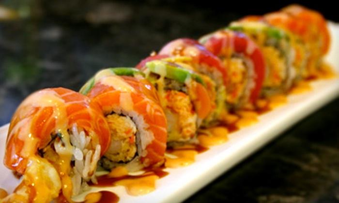 Hiro Sushi Japanese Cuisine - Midlothian: Japanese Cuisine at Hiro Sushi Japanese Cuisine (Half Off). Three Options Available.