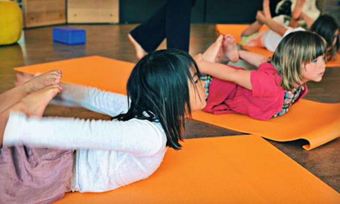 Smiling Monkey Yoga - University Town Center: 10 or 20 Children's Yoga Classes from Smiling Monkey Yoga at the Center for Living Peace (Up to 78% Off)