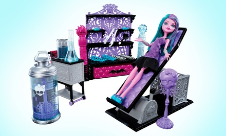 Monster High Create-a-Monster Color Me Creepy Design Chamber.