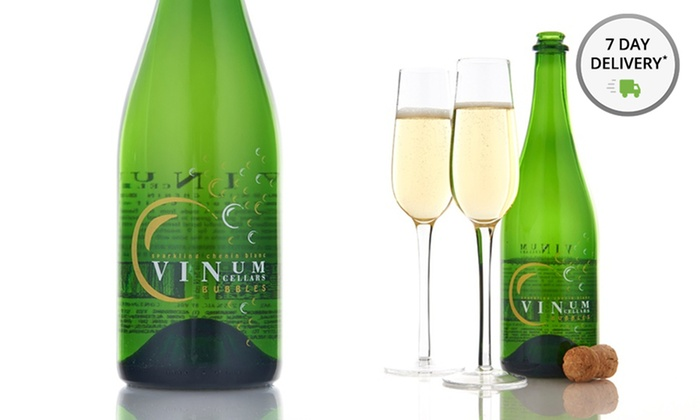 Vinum Cellars Sparkling Chenin Blanc 6-Pack: 6 Bottles of Vinum Cellars Sparkling Chenin Blanc. Shipping Included.