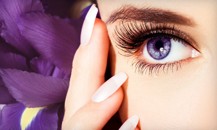Trevi Nails - Murray Hill: One or Three Full-Sets of Eyelash Extensions or Gel Manicure at Trevi Nails (Up to 58% Off)