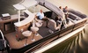 Lakeview Marina - Lake Hopatcong: Pontoon-Boat Rental with Driver from Lakeview Marina (Up to 48% Off). Four Options Available.