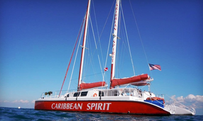 Tropical Sailing - Downtown Miami: $25 for a Four-Hour Sail-and-Splash Snorkel Trip from Tropical Sailing ($50 Value)