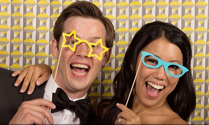 April's Photography - Seattle: Three- or Five-Hour Photo-Booth Rental from April's Photography (Up to 64% Off)
