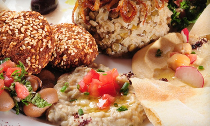 Garden Of Eden - Gulf View Terrace: $12 for $25 Worth of Mediterranean Food at Garden of Eden in Hudson