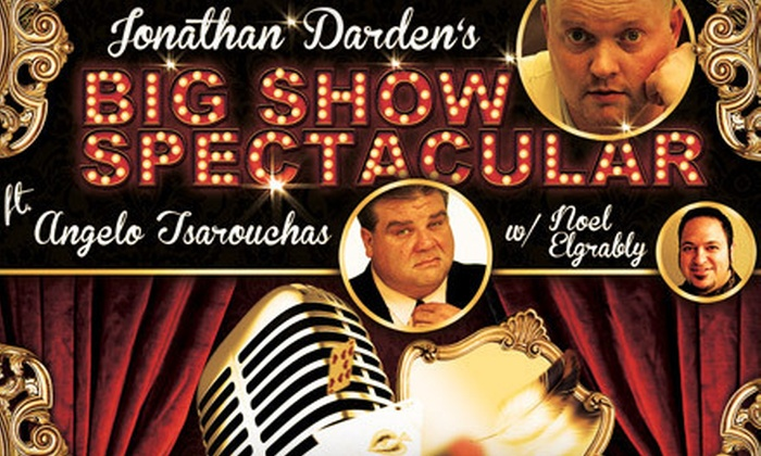 Jonathan Darden's Big Show Spectacular - North Rosslyn: Jonathan Darden's Big Show Spectacular Comedy Show in Arlington (Up to 53% Off). Four Options Available.
