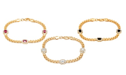 Frame Bracelets with Swarovski Elements Crystals