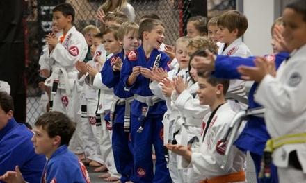 $45 for One Month of Unlimited Kids Jiu-Jitsu Classes at Gracie Barra Rohnert Park ($149 Value)