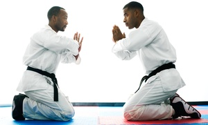 Professional Karate Studios - Princeton: Karate Uniform and One-Month or Two-Month Membership at Professional Karate Studios - Princeton (Up to 91% Off)
