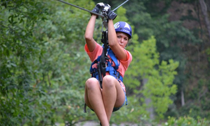 Valley Zipline Tours - Lancaster: $ 44 for a Zipline Tour at Valley Zipline Tours ($ 89.99 Value)