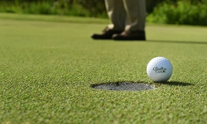 Champions Club: 18 Holes of Golf with Cart and Range Balls for Two or Four at Champions Club (Up to 79% Off)