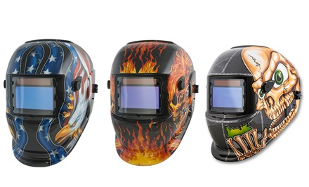 Titan Solar-Powered Welding Helmets