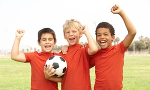 Pinnacle Sports: One Week of Kids' Sports Summer Camp for One or Two at Pinnacle Sports (Up to 56% Off)