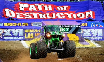 $25.75 for One Ticket Plus One Pit Pass to Monster Jam at MetLife Stadium on Saturday, June 13, at 7 p.m. ($51.80 Value)
