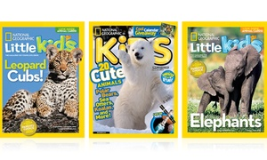 Up to 33% Off a Subscription to National Geographic for Kids at National Geographic Kids, plus 6.0% Cash Back from Ebates.