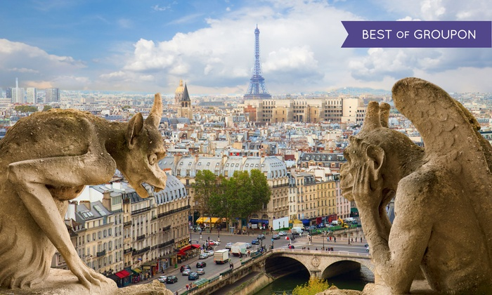 6-Day Paris Vacation with Airfare from Great Value Vacations