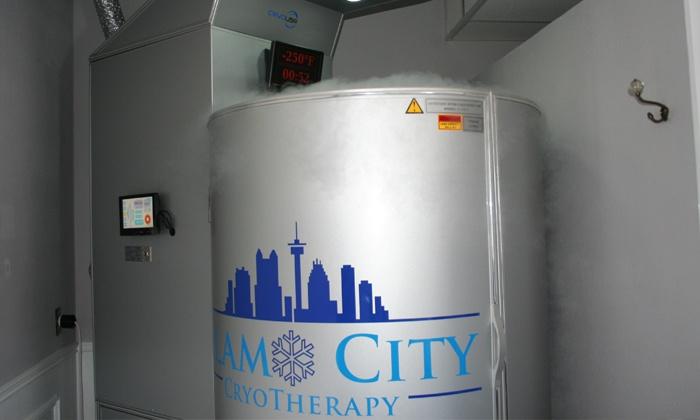 Alamo City Cryotherapy - Alamo City Cryotherapy--Downtown San Antonio: One or Four Whole-Body Cryotherapy Sessions at Alamo City Cryotherapy (Up to 52% Off)