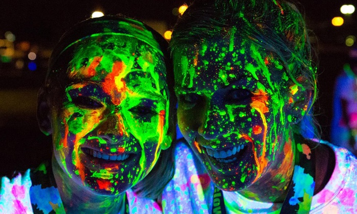 Color and Glow Run - Montgomery County Fairgrounds: $25 for 5K Race Entry, Shirt, and Glow Gear at Color and Glow Run on Saturday, September 13 ($50 Value)