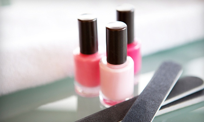 Figure Head Club Salon and Spa - Amherst: One or Two Mani-Pedis at Figure Head Club Salon and Spa in Williamsville (Up to 56% Off)