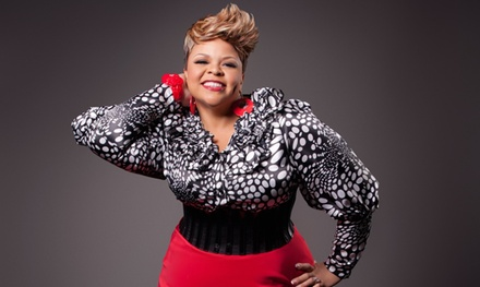 Gospel Singer Tamela Mann on Saturday, April 11, at 6 p.m. (Up to 40% Off)
