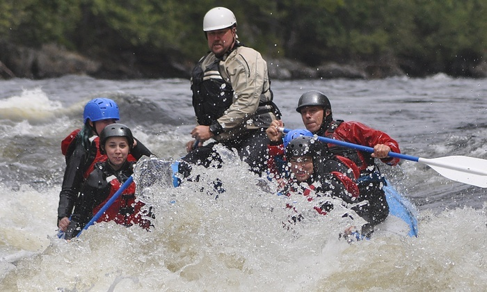 Kennebec River Rafting with BBQ Lunch - The Forks: Up to 50% Off Rafting Trips at Dead River Expeditions