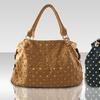 Large Gold-Studded Handbag