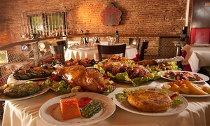 Museo del Jamón Cerrito: Desde $799 por almuerzo o cena premium española de 3 pasos para dos o cuatro en Museo del Jamón Cerrito