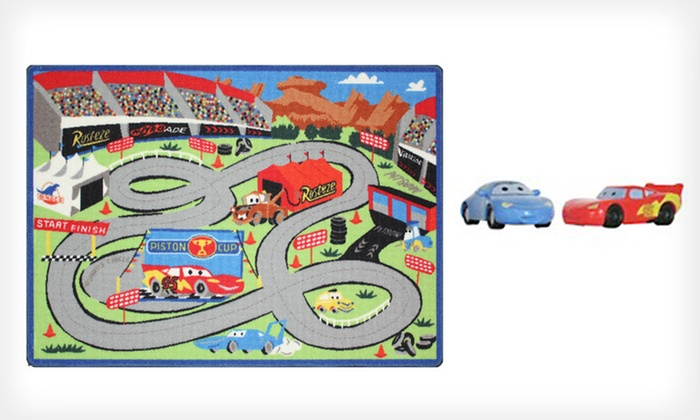 Disney Activity Rug Groupon Goods
