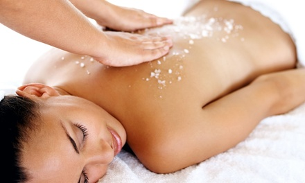 $41 for a 30-Minute Massage and Sea-Salt Body Scrub at Elena Europa Spa ($85 Value)