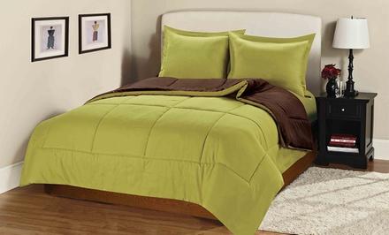 3-Piece Reversible Comforter Sets
