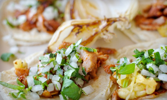 Mexican Salsas - Downtown Toronto: $6 for $14 Worth of Mexican Food at Mexican Salsas