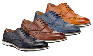 Franco Vanucci Arnold Men's Wingtip Oxford Shoes
