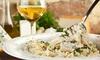 Agriturismo Locatelli Ul Sasson - Marzio: Menu con prodotti a km 0 e calice di vino per 2 o 4 persone all'Agriturismo Locatelli Ul Sasson (sconto fino a 62%)