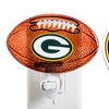 NFL Painted Glass Night Lights (2-Pack)