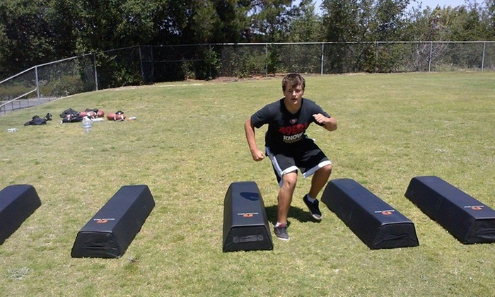 High Performance Football - San Jose: One Day of Sports Camp at HIGH PERFORMANCE FOOTBALL (65% Off)