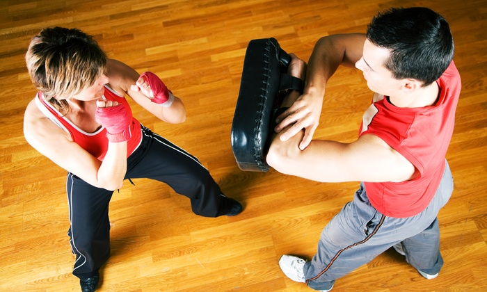 One Kick's Gym - Paradise: 10 or 20 Muay Thai Kickboxing Classes at One Kick's Gym (Up to 71% Off)