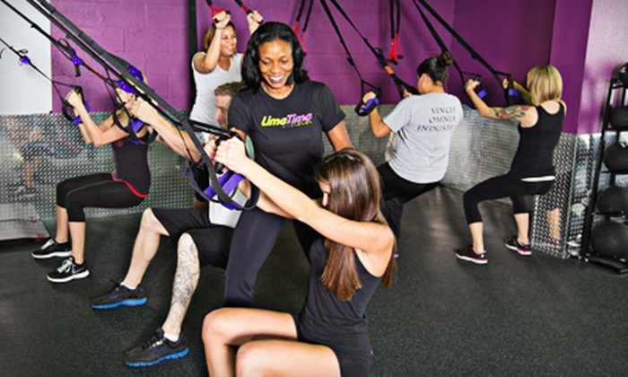 LimeTime - Coral Springs: One or Two Months of Unlimited Classes or One Drop-In Group Personal-Training Class at LimeTime (Up to 94% Off)