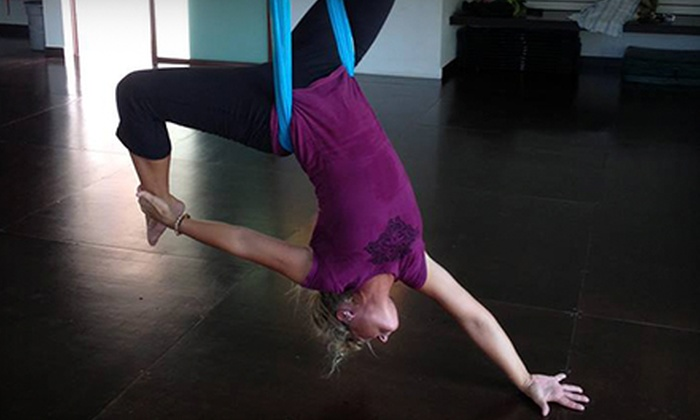 Reaching Treetops Yoga - Waukesha: $399 for Aerial-Yoga Teacher Training November 14–18 at Reaching Treetops Yoga ($800 Value)
