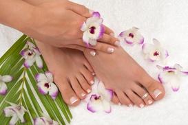 Vickie Le at Aloha Salon: Up to 50% Off Shellac Manicures at Vickie Le at Aloha Salon