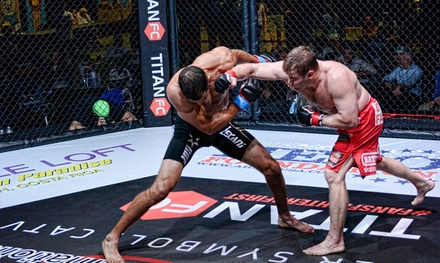 $31 for One Ticket to the Titan FC 29 MMA Event at Crown Complex on Friday, August 22, at 7 p.m. ($63.01 Value)