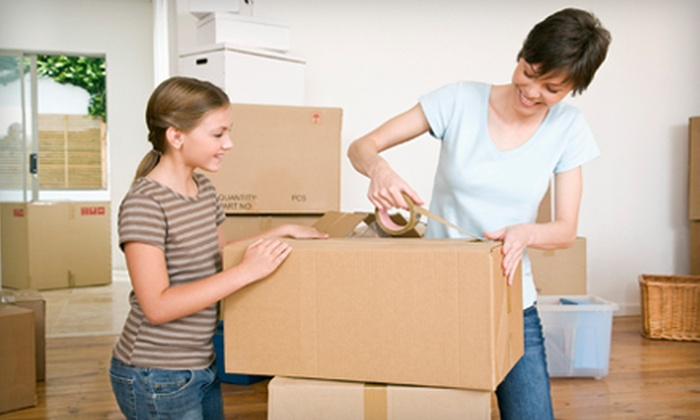 Beltway Movers - Multiple Locations: 15-, 25-, or 35-Box Moving Package with Tape and Marker at Beltway Movers (Up to 60% Off)