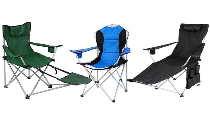 Sillas plegables de camping groupon goods for Oferta sillas plegables