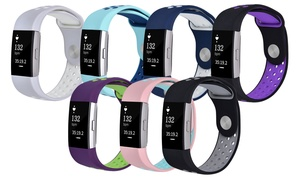 Breathable Silicone Bands for Fitbit Charge 2